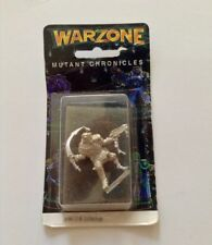 1995 Warzone Mutant Chronicles Miniature Curator 9612-B Metal