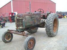 Original Oliver 88 Diesel Tractor Wide Front Runs Good