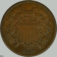1868 2c Shield Two Cents
