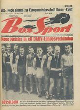 Zeitschrift Box Sport 51. Jahrgang 1968 Nr. 13 DABV Elze Duran Swift Meister