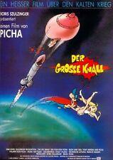 Picha Luis Rego DER GROSSE KNALL (The Big Bang) EA-Filmplakat A1 GEROLLT 1987