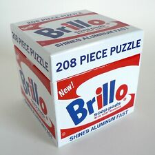 Andy Warhol Brillo Soap Pads Jigsaw Puzzle New Sealed Pop Art Toys 9780735346055