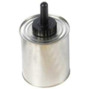 The Main Resource TI260 Aluminum Cement Quart Can With Plastic Handle Brush And
