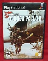 Conflict Vietnam -  PS2 Playstation 2 Game 1 Owner NEAR Mint Disc Complete