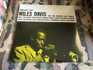 Miles Davis and the Modern Jazz Giants LP Still Sealed Vinyl