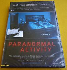 PARANORMAL ACTIVITY -DVD R2- English Español - Precintada