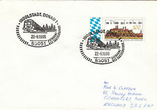 (07678) Germany Cover Trains Ingolstadt 22 June 1996