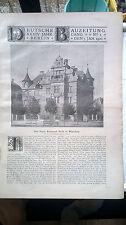 1900 1 Monaco Casa Emanuel Seidl Berlino Stadtbahn anello ferroviario Karl Buls