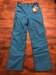 "NWT Under Armour Boys' Storm Chutes Insulated Pants sz YXL Blue 32"" Inseam"