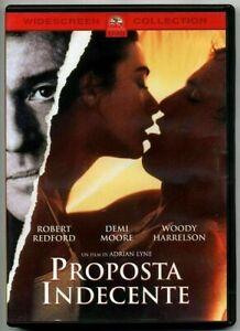 PROPOSTA INDECENTE (1993) di Adrian Lyne - Demi Moore DVD EX NOLEGGIO PARAMOUNT