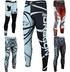 Mens Compression Tight Base Layer Gym Sports Leggings Running Pants
