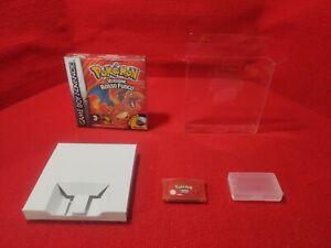 Nintendo Pokémon rosso fuoco italiano Repro box Case italiano