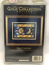 NEW - Dimensions Gold Collection Petites Count The Stars Cross Stitch 6742
