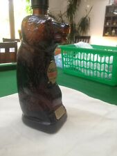 Vitage Bear Cossack Vodka Bottle