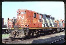 Original Train Slide Canadian National CN Railway Railroad RR Kodak Kodachrome