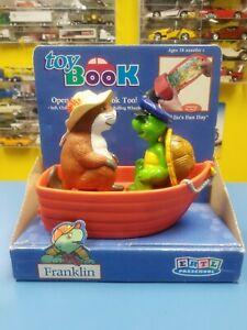 "ERTL PRESCHOOL ""FRANKLIN "" TOY BOOK  ""NEW"""