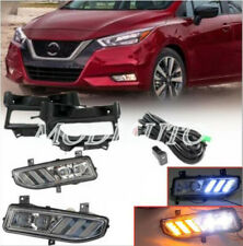 2020+ for Nissan Versa Sunny left&right  LED  Front fog lamp harness switch kit