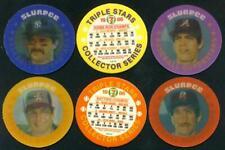 Pete Rose - Willie McGee - Jerry Mumphrey #S16 1986 Seven-Eleven