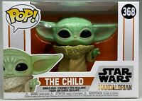 "FUNKO POP! STAR WARS THE MANDALORIAN #368 BABY YODA ""THE CHILD"" BOBBLEHEAD VINYL"