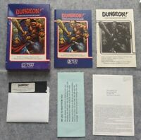 Dungeon! Apple II TSR Hobbies rare early vintage computer game 1982 Dungeon