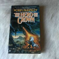 THE HERO AND THE CROWN Robin McKinley 1987 Sci-Fiction Fantasy Feminist Romance