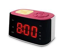 Metronic Gulli Radio-réveil USB Rose