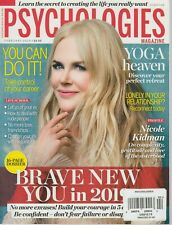 Psychologies Magazine February 2019 Nicole Kidman/Yoga