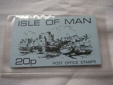 Isle Of Man 20p Booklet - Mint.
