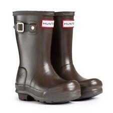 Hunter Wellington Boots Original Kids Hampstead Kids Junior Rubber Rain Wellies