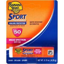 Banana Boat SPORT Performance Suncreen Lip Balm SPF 50 UVA/UVB w/ Aloe Vera