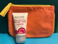 Acure Pore Minimizing Red Clay Mask Cleansing Full 1.75oz SEAL+ Ipsy Bag Aug '18