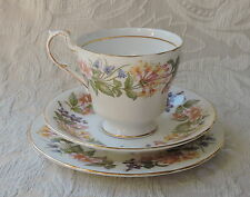 Vintage Paragon Royal Albert Tazza da Tè Trio Cup Saucer Plate Country Lane 1963
