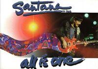 SANTANA 2002 ALL IS ONE TOUR CONCERT PROGRAM BOOK BOOKLET-CARLOS SANTANA-EX~MT