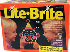 LAST 1 Vintage Hasbro WORKING Lite-Brite Light Bright w/Extra Pegs Pictures