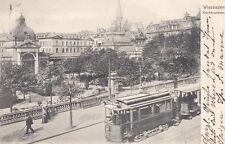 Ansichtskarten aus Hessen mit dem Thema Straßenbahn