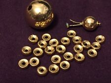 14K Vintage Beads with Brooch 0.2 Oz.