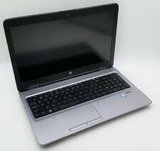 """HP 15.6"""" ProBook 650 G3 i7-7600U 2.80GHz 8GB DDR4 RAM 256GB NVMe SSD Win10 FHD"""