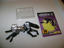 Transformers G1 Ravage Takara reissue 18 cassette tape 100%, C9 awesome