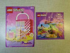 Lego Belville 5835 estudio de danza, 5845 folletos de instrucciones Delfín mostrar