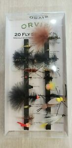 """ORVIS 20 piece FLY SELECTION """"please look at photos"""""""
