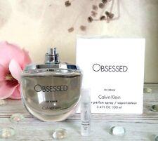 CK Calvin Klein Obsessed for Women EDP 2ml sample 100% genuine