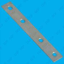 "50x 150mm (6"") Straight Mending Plates Flat Steel Brackets Repair Fixing Joining"