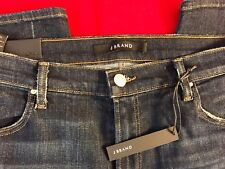 "J BRAND Disguise Destruct Mid Rise Ripped Super SKINNY Jeans W 32"" X L 31"""