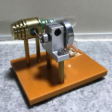Mini Hot Air Stirling Motor Generator Engine Model Toy Free Piston Engine Model
