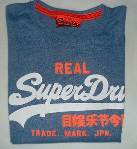 SuperDry T.Shirt blau Gr. L/XL