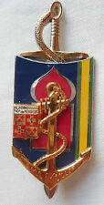 Insigne Promotion Santé EPPA Toulon QM1 muller Thème Commando Marine de MONTFORT