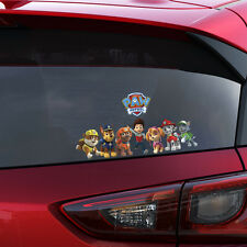 Paw Patrol Gang on Board Decal Window Sticker Car Bumper Gift Present New 2016