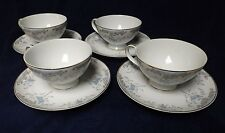 "Imperial China Japan ""Seville"" by W. Dalton Set of 4 Tea Cups and Saucers #5303"