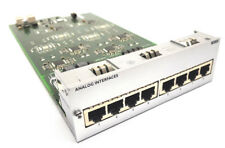 Alcatel omnipcx SLI 8-2 analógico interfaces ensamblaje top!!!