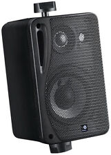 2x e-audio caisson haut-parleur comprenant Support mural b416b